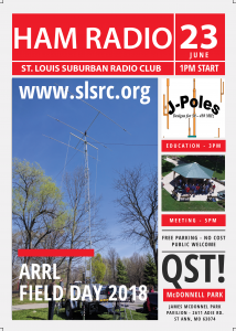 SLSRC Field Day 2018 & June Club Meeting @ James S. McDonnell Park